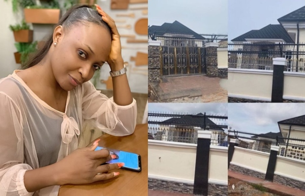 Okoro Blessing Admits Lying About building a House as Owner Shows Up