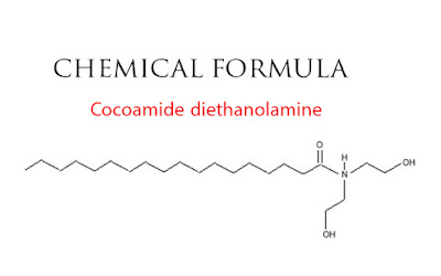 chemical formula for Cocoamide diethanolamine