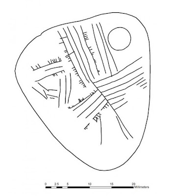 Mesolithic engraved pendant discovered in the UK