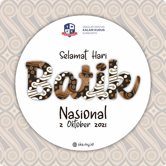 Hari Batik Nasional 2021, 2 Oktober 2021
