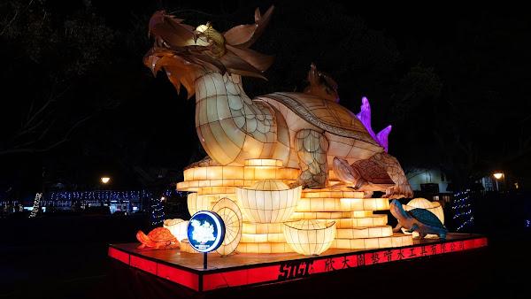 2021鹿港燈會燦爛迎新春 文武廟、頂番婆燈區試燈