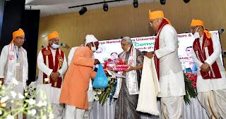 राज्यपाल ने प्रगतिशील किसान इंद्रसेन सिंह को किया सम्मानित | #NayaSaberaNetwork