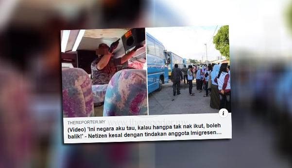 Imigresen nafi pegawainya tampar pekerja Indonesia, hanya tepuk tempat duduk sahaja