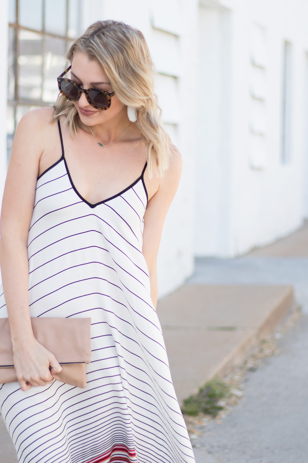 Striped summer dress