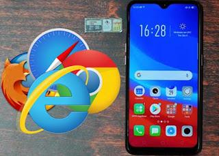 Cara Mengubah Default Browser pada Oppo A7