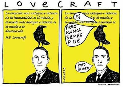 Meme de humor sobre Lovecraft
