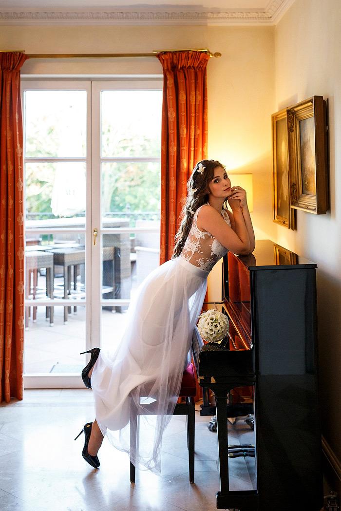 Braut Boudoir im Schlosshotel Am Rhein