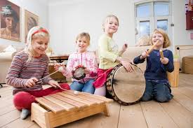 Musical Instruments and Kids