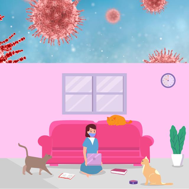 Gambar Kartun Anak Belajar di Rumah (26)