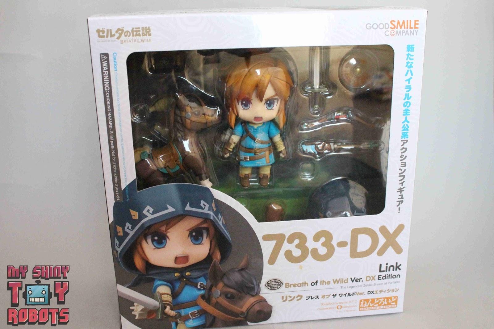 The Legend of Zelda Breath Wild Link 733-DX Nendoroid Action Figure Statue Toys