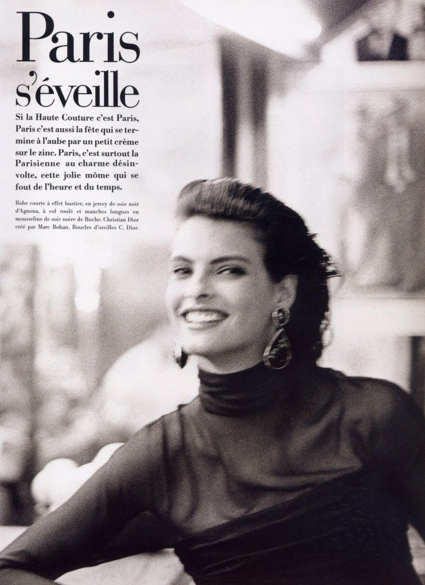 Redux | Fashion in the 80's: A Few Past Editorials from the Pages of Paris Vogue & More, Featuring Some of the Original Supermodels
