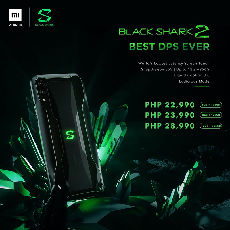 Black Shark 2 price and availability