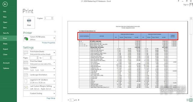 Manfaatkan Print Titles untuk Membuat Header yang Sama Setiap Page Excel