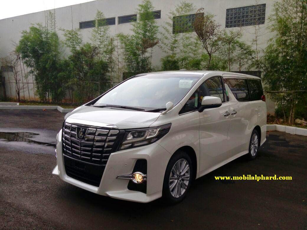 toyota all new alphard 2015 yaris trd 2018 mobil baru type sa 2 5 cc cbu
