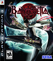 Bayonetta Game PS3 Cover