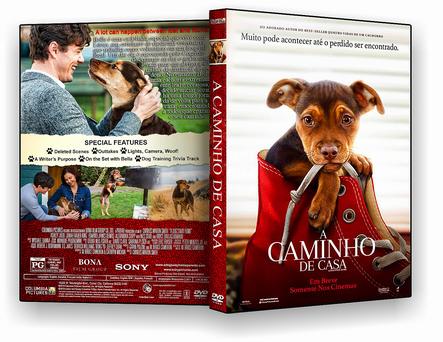 CAPA DVD – A Caminho de Casa 2019 – ISO