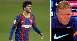 Koeman confirm club permission as Alena skip clubs last training ahead of  Bilbao clash.