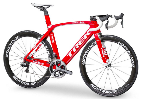 Trek-Segafredo team Trek Madone