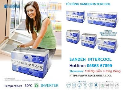 Tủ đông Sanden intercool