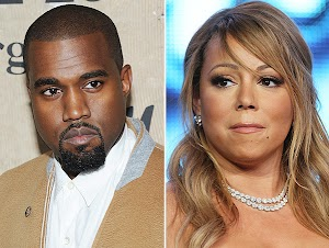 Who's in charge?: Mariah Carey had a fight with Kanye West