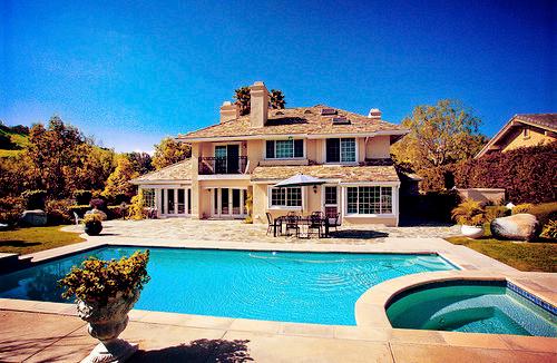 mansiones de lujo con piscina he hidromasaje