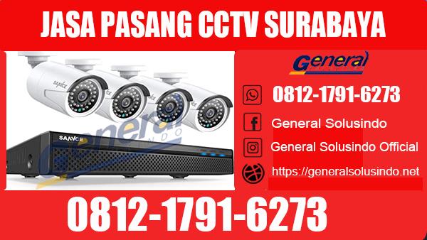 Jasa Pasang CCTV Bubutan Surabaya