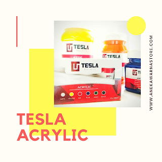 tesla paints