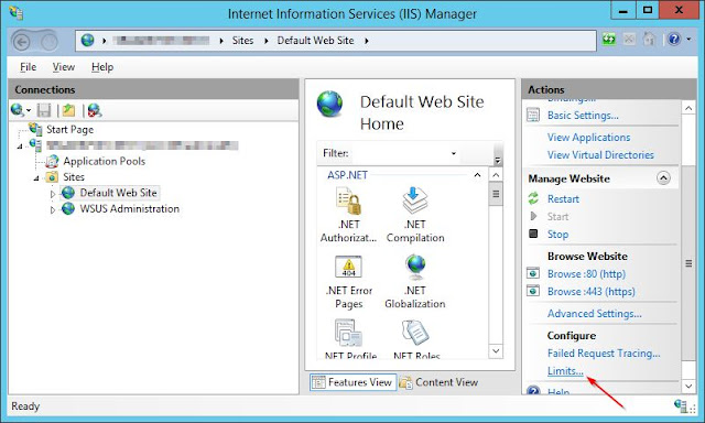 Franck RICHARD's Blog: IIS HTTP Error 503 due to Limits in our SCCM