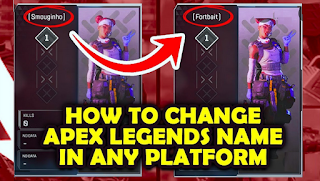 How To Change Your Name in Apex Legends, this is easy