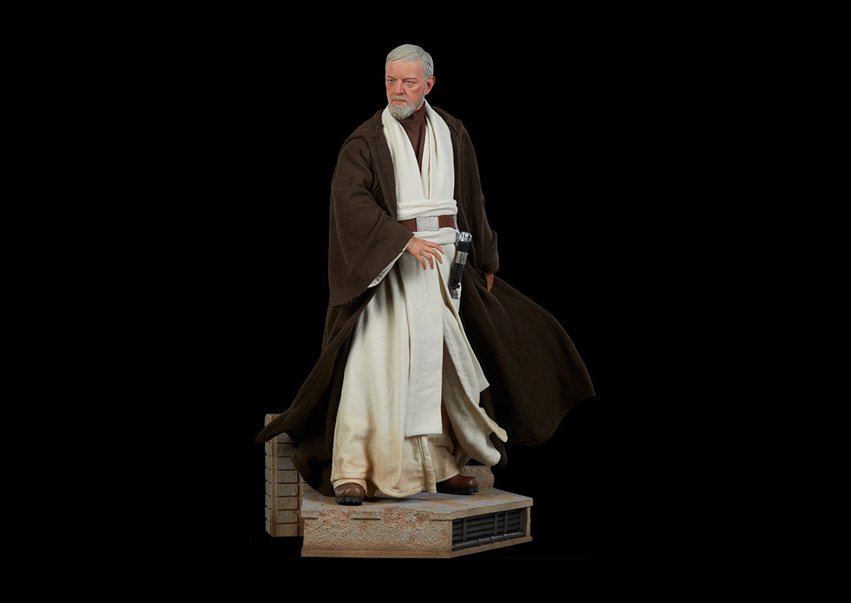 The Force is strong with this one: Obi Wan Kenobi Premium Figure by Sideshow Collectibles