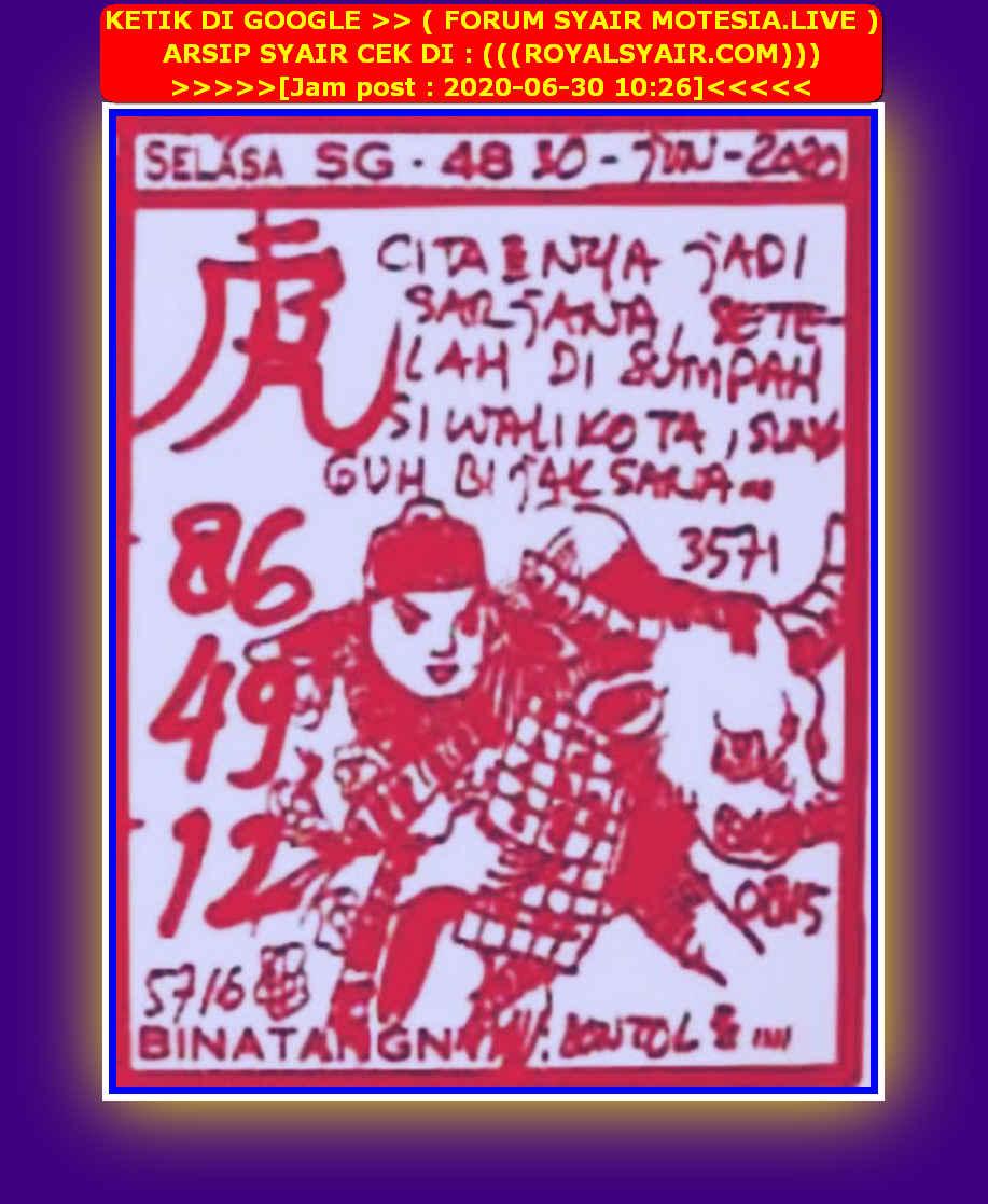 Kode syair Hongkong Selasa 30 Juni 2020 111