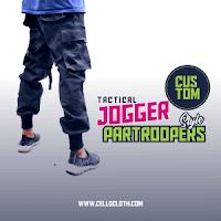 Custom Celana Tactical Jogger Partroopers Style Satuan or Lusinan