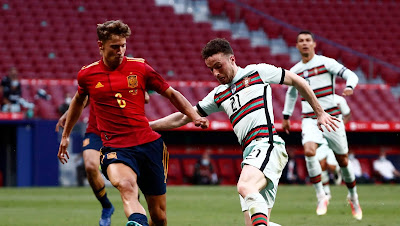 ملخص مباراة إسبانيا والبرتغال ( 0-0) في مباراة ودية