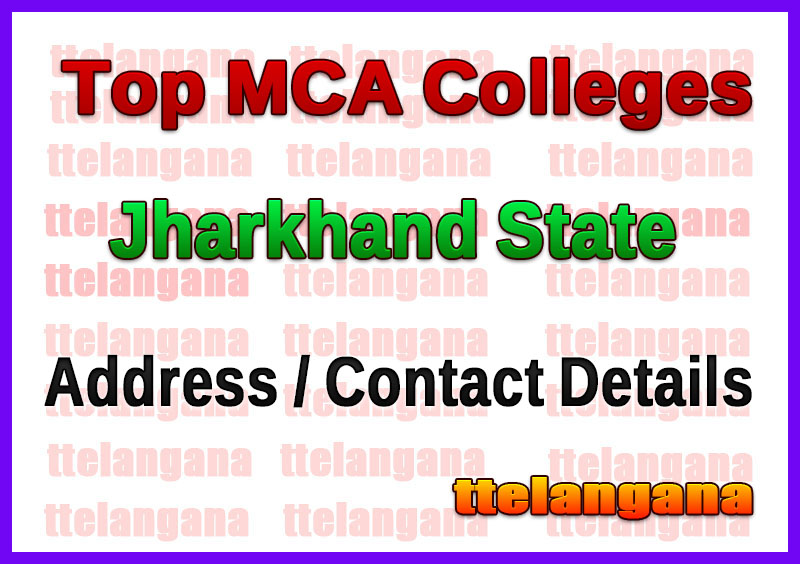 Top MCA Colleges in Jharkhand