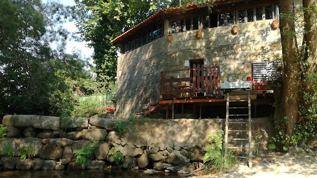 Casa da Moleira com  acesso á praia fluvial