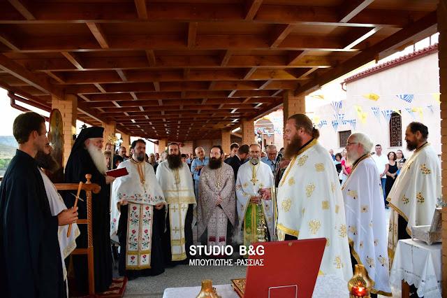 Αρχιερατικός Εσπερινός στην Ιερά Μονή Αγίας Μαρίνας στο Άργος (βίντεο)