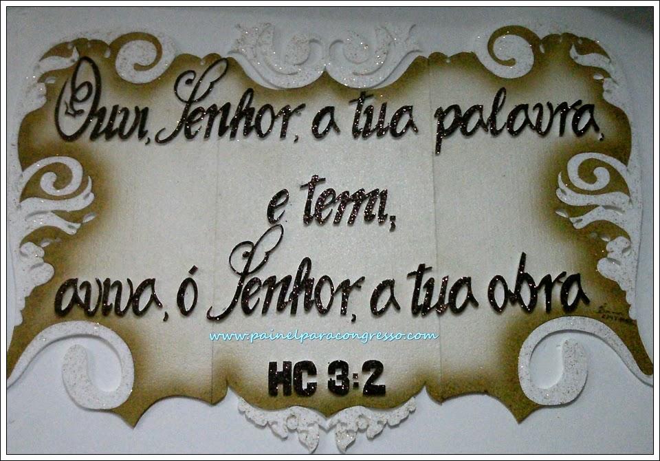 Painel evangélico  /  Habacuque 3:2
