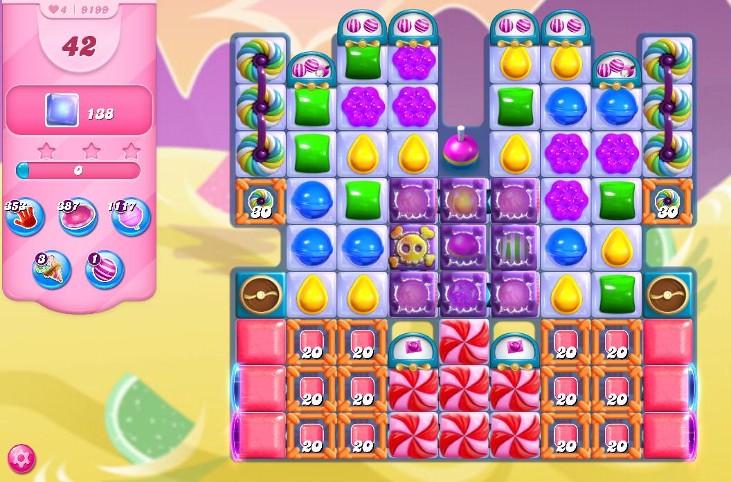 Candy Crush Saga level 9199