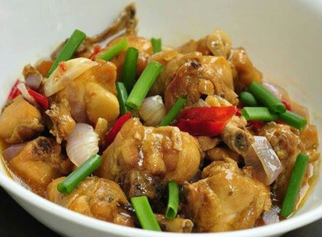 Resepi Ayam Halia Special