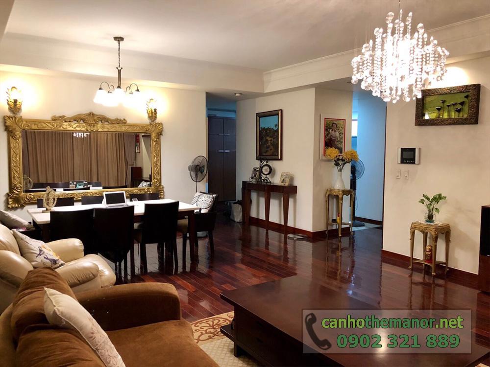 BÁN căn hộ 3PN, 157m2 nội thất siêu đẹp tại The Manor 1 HCM - hình 2