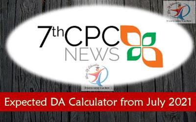 28% DA Calculator from July 2021