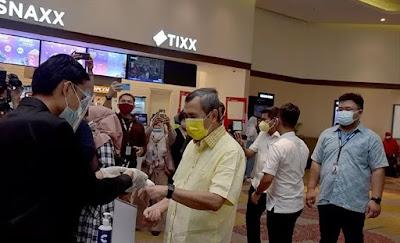 Gubri: Bioskop Kembali Beroperasi dengan Protokol Kesehatan Ketat