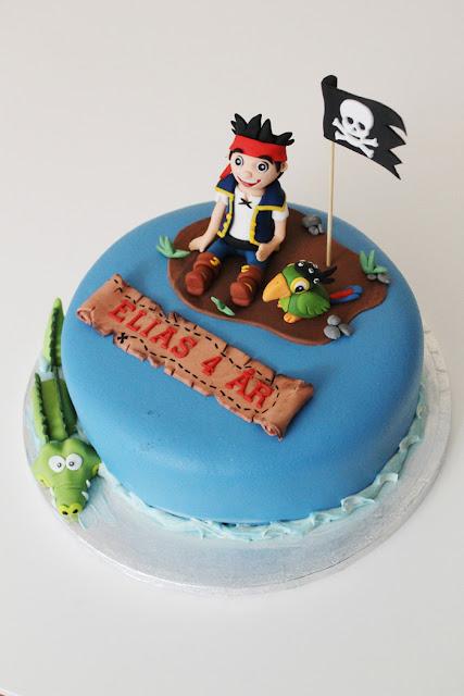 Jake och piraterna tårta