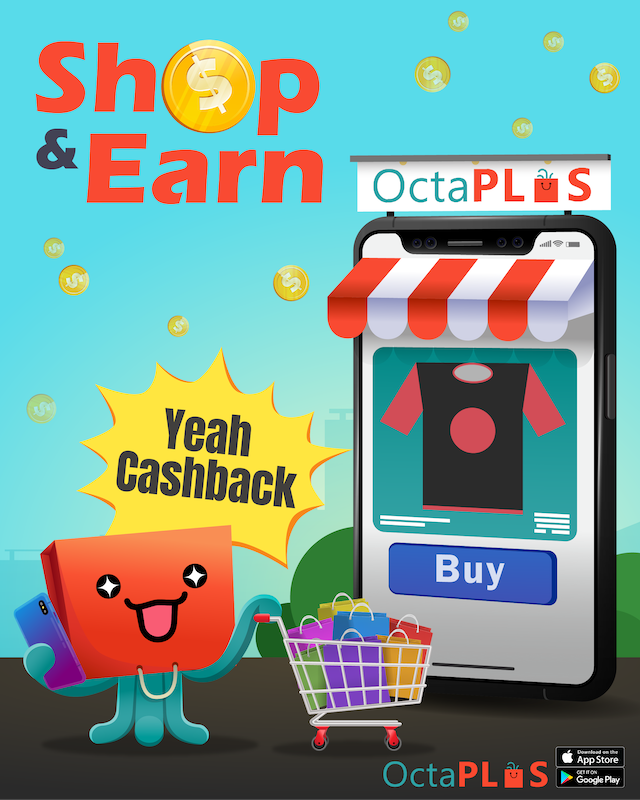 Cashback for all with Octaplus!