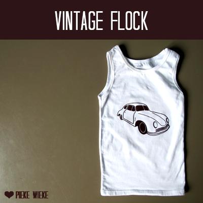Vintage car flock