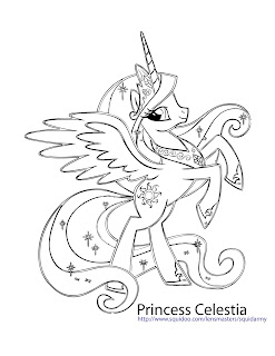 My Little Pony Coloring Pages  The Coloring Page