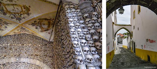 Capela dos Ossos, em Évora, Portugal