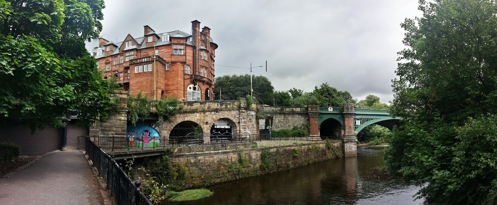 Caledonain Mansions at Kelvinbridge, Glasgow