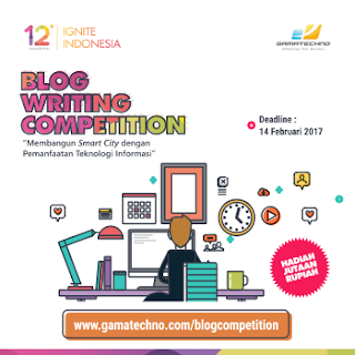 Gamatechno - Blog Writing Competition