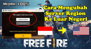 Cara Mengubah Server Region Free Fire Ke Server Luar Negeri